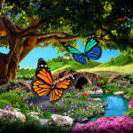 3D Butterfly Live Wallpaper Latest version for Android