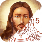 Bible Coloring Paint by Number Free Bible Games  Mod Apk