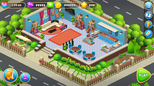 Cooking Design – City Decorate Home Decor Games 1