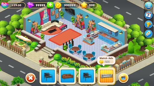 Cooking Design – City Decorate Home Decor Games 2