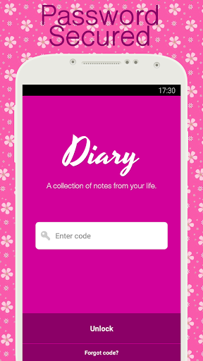 Diary with lock 1