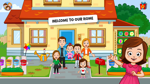My Town Home Doll house – Family Playhouse 1