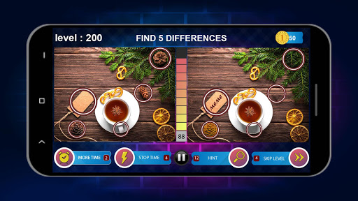 Spot 5 Differences 1000 levels 2
