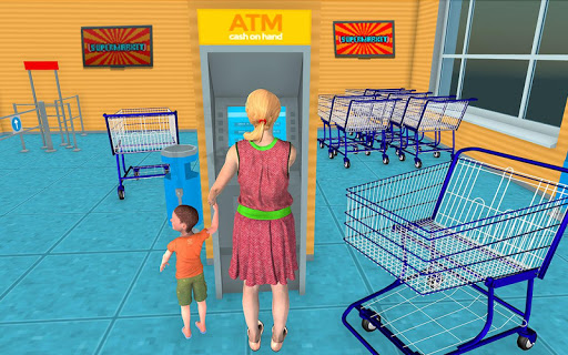 Supermarket Grocery Shopping Mall Family Game 2