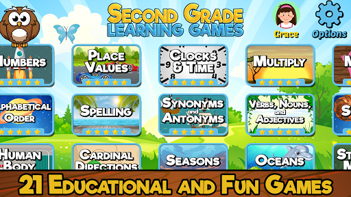 Second Grade Learning Games 1